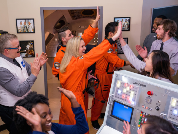 Houston, Escape Hunt Apollo 13 celebration, July 2017