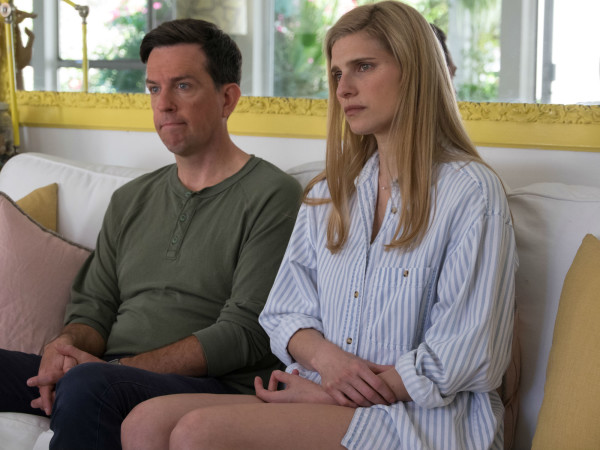 Ed Helms and Lake Bell in I Do... Until I Don't