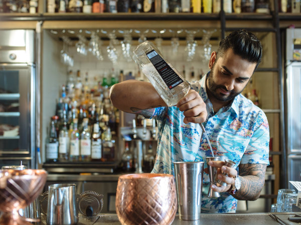 Dallas bartender Ravinder Singh