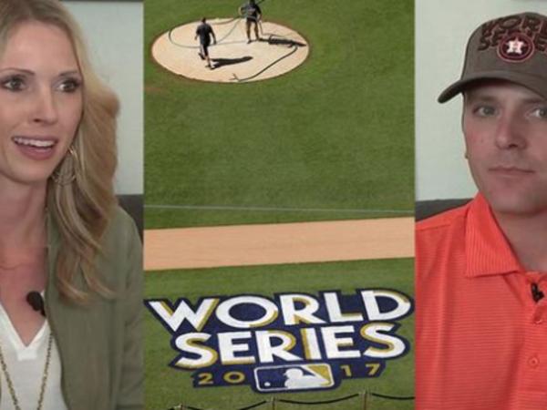 Sarah and Kirk Head threw Dodgers' home run ball back on field