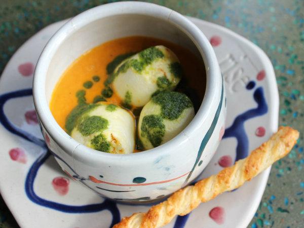 Marshmallow soup