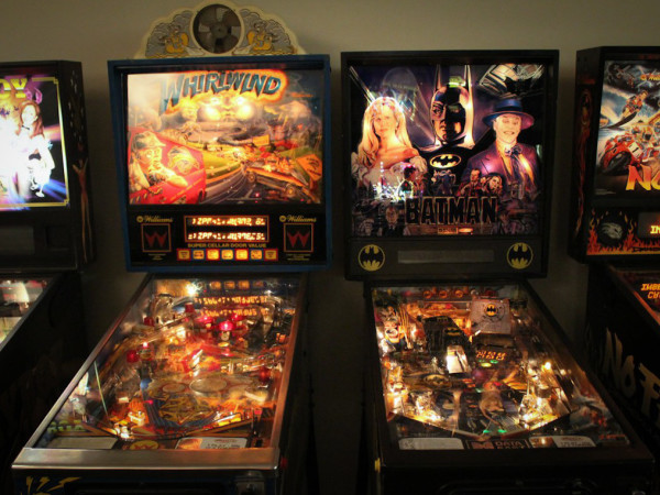 Austin Photo Set: News_Kerri Lendo_Pinballz_Nov 2011_two pinball machine
