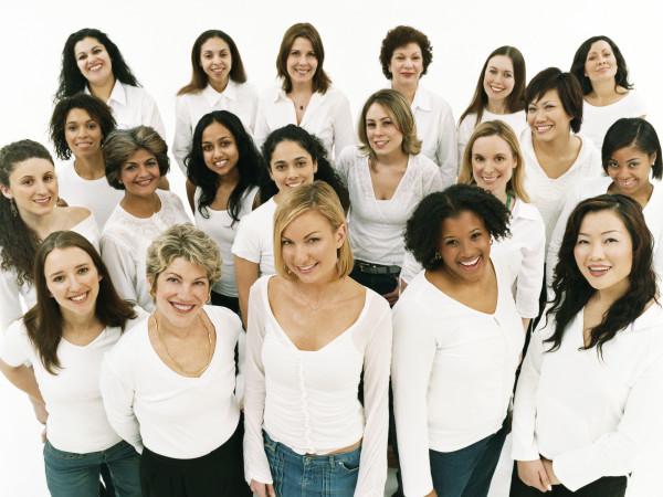 Austin Photo Set: News_Leila_international womens day_march 2012_group of women