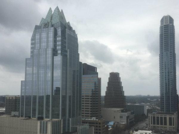 Austin fog rain weather