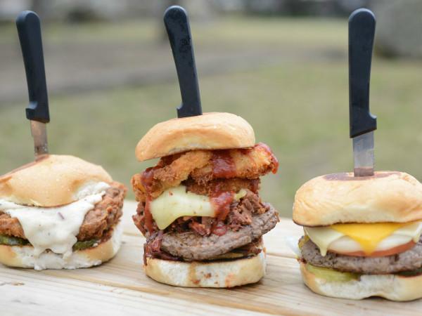 Texas 46 BBQ burgers Spring Branch