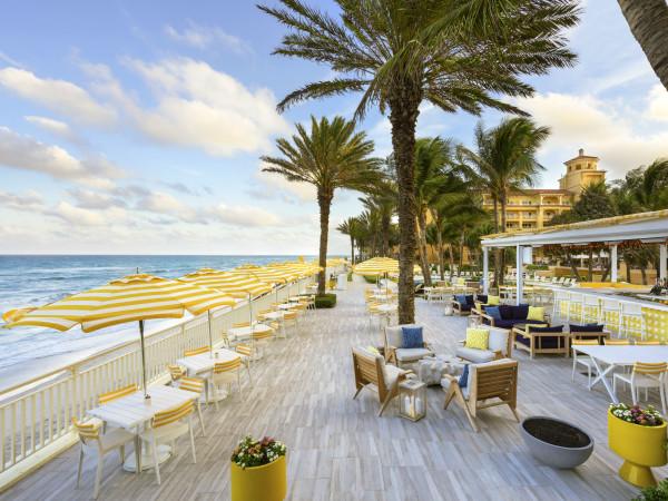 Travel Palm Beach Eau Palm Beach restaurant exterior