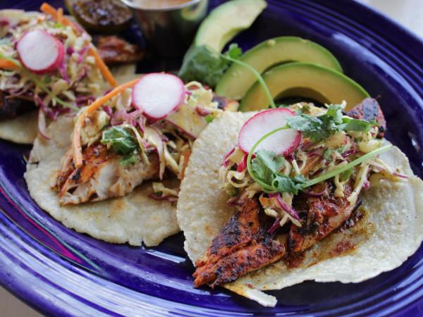 Finn Hall Goode Co. Taqueria fish taco