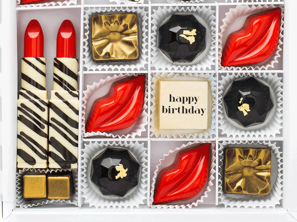 Glam happy birthday chocolates