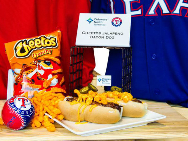 Rangers ballpark food