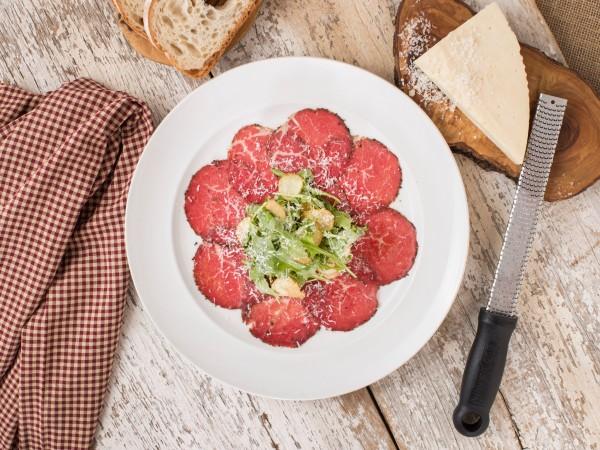 Wagyu Carpaccaio Carmelo's Cucina Italiano