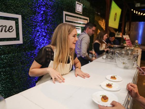 CultureMap Austin 2018 Tastemaker Awards at Fair Market Hall of Fame Sophia's Cold Smoked Beef Sirloin Tartare