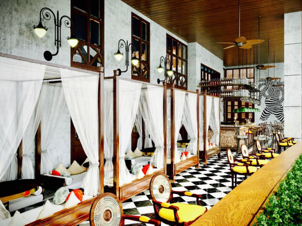 Musaafer by The Spice Route Company Galleria rendering