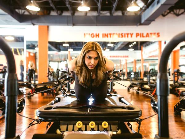 Free fitness classes HIP Fitness pilates shot  2