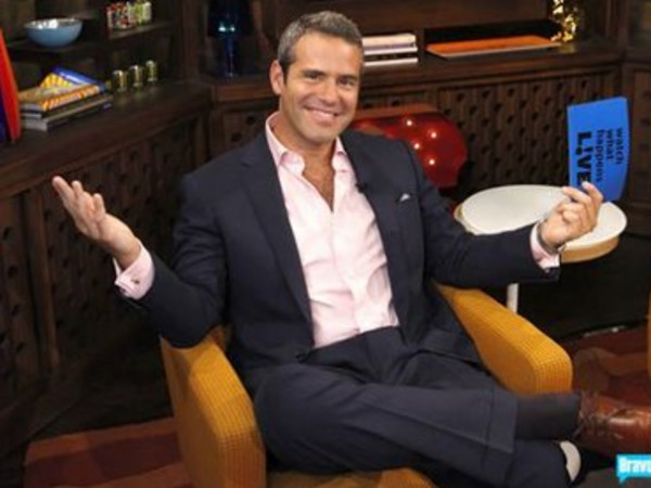 Andy Cohen sitting