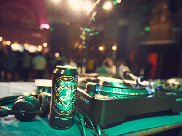Beer Mansion DJ station