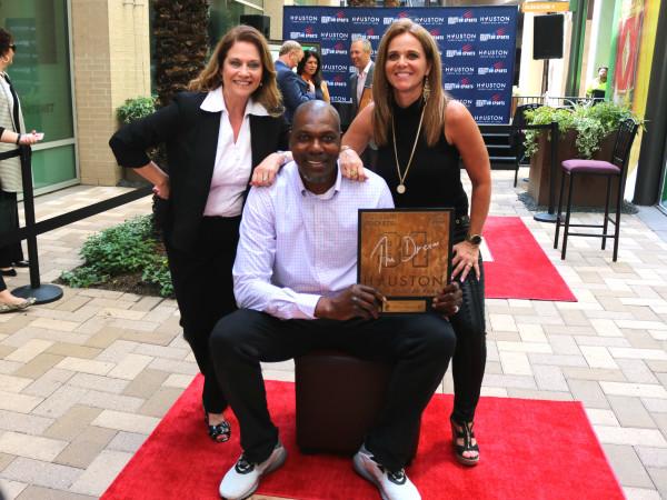 Houston Sports Hall of Fame rings Hakeem Olajuwon