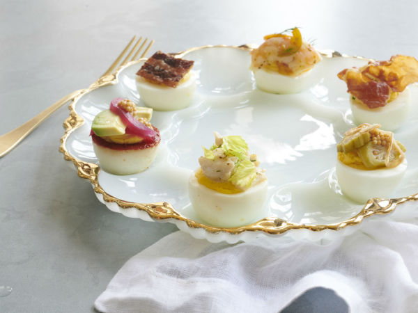 Billy Can Can deviled eggs