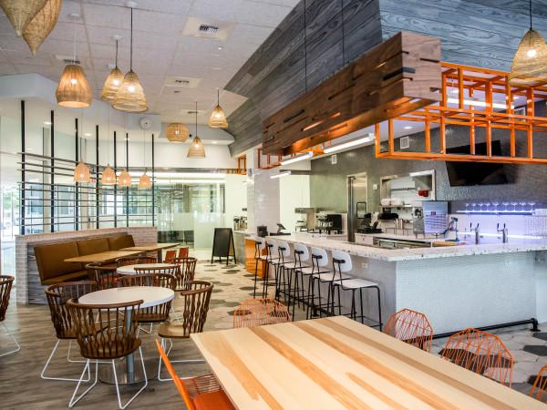 Fusion Eats Fusion Tacos Greenway Plaza interior
