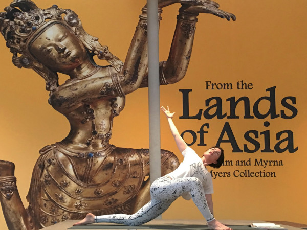 Kimbell Art Museum yoga