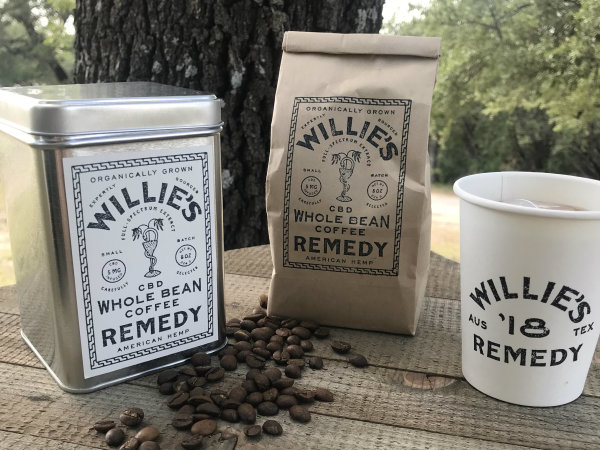 Willie's Remedy CBD coffee
