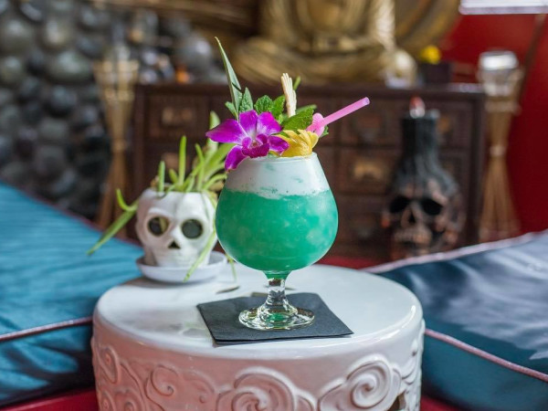 Hot Joy San Antonio tiki drink