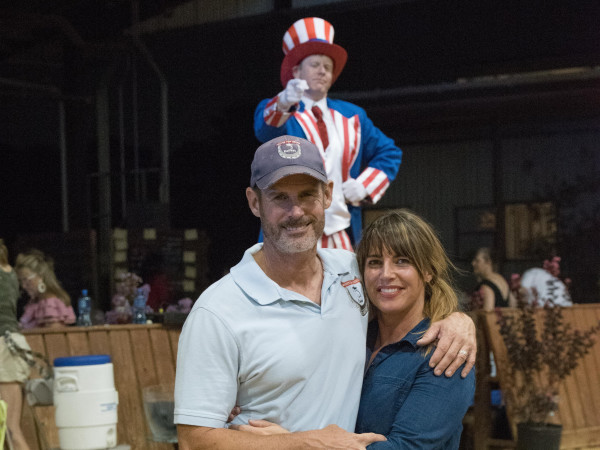 Jeff and Colleen Hensley, Equest Boots and Salutes