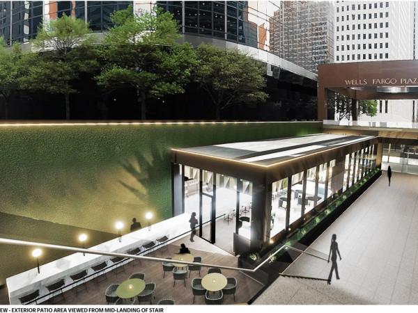 Adair Concepts Wells Fargo Plaza rendering