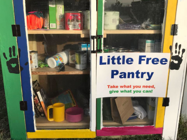 Little Free Pantry Austin Texas