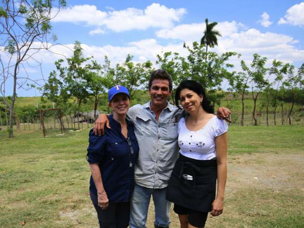 Nancy Nichols in Cuba