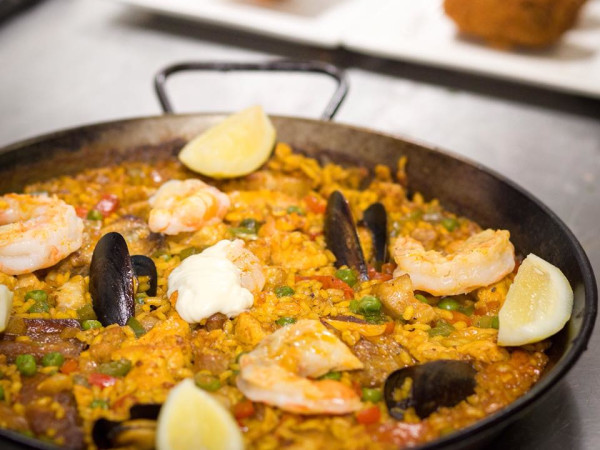 Toro Kitchen + Bar San Antonio paella