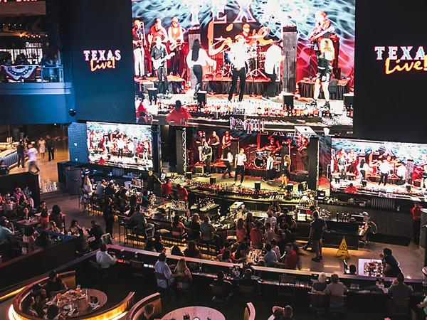 Texas Live bar