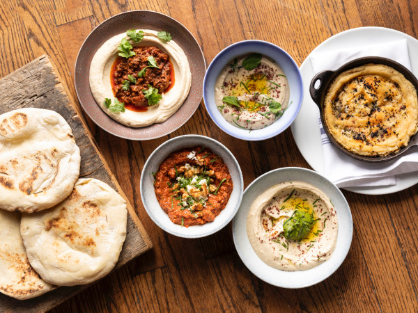 One Fifth Mediterranean dips