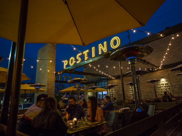 Postino night view
