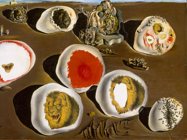 Salvador Dali, The Accommodations of Desire