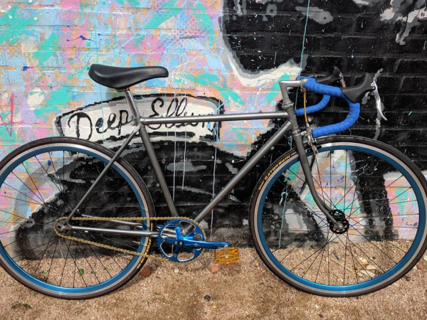 Bike in Deep Ellum