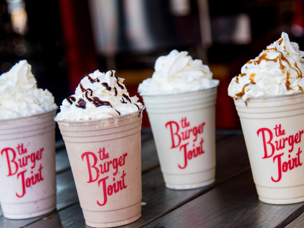 The Burger Joint milkshake