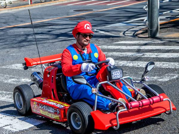mario kart live action mario mushroom race live action