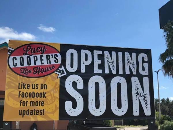 Lucy Cooper's San Antonio sign