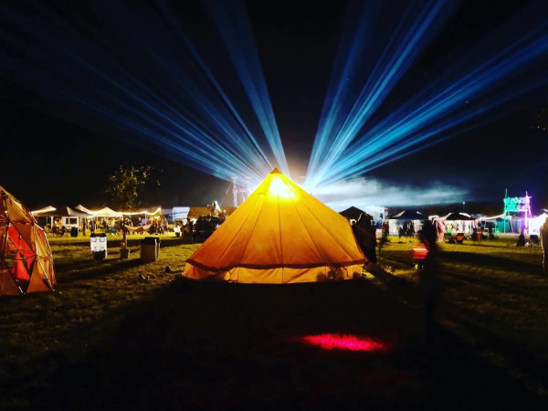 Utopiafest camping music festival