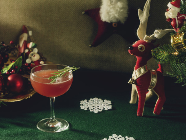 Miracle bar pop up christmas cocktail
