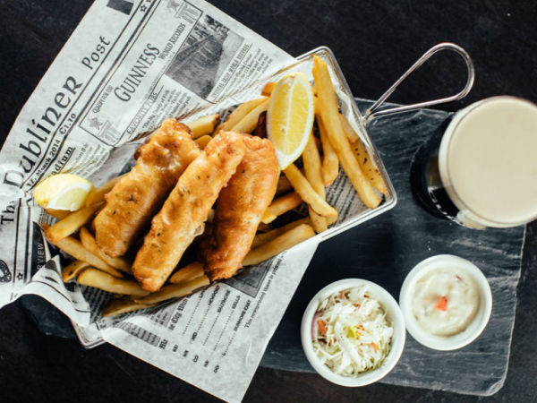 Playwright Pub fish chips