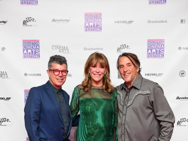 hCAF 2018 Opening Night:Richard Herskowitz, Franci Neely, Rick Linklater