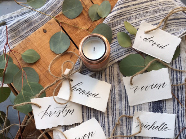 Holiday lettering with Viv Jordan