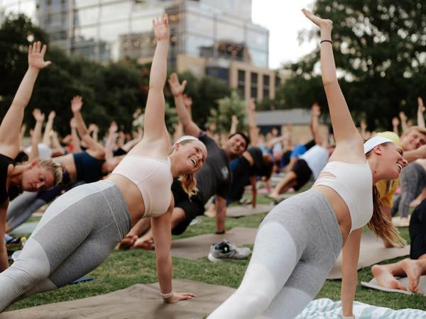 Outdoor Voices yoga republic square