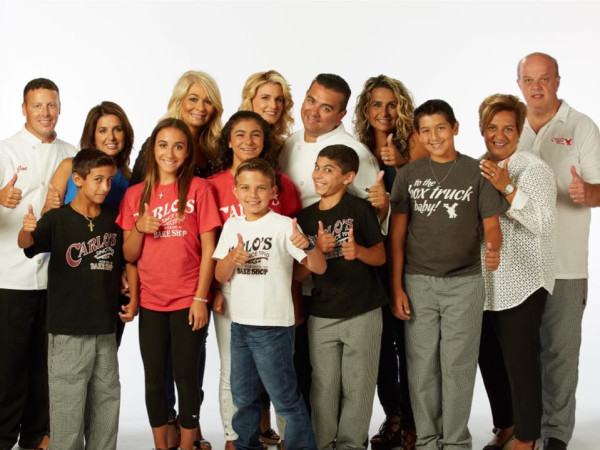 Buddy Valastro and family