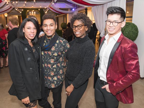 Jasmine Douglas, Brooks Davenport, Darielle Carmouche, Matthew Lee