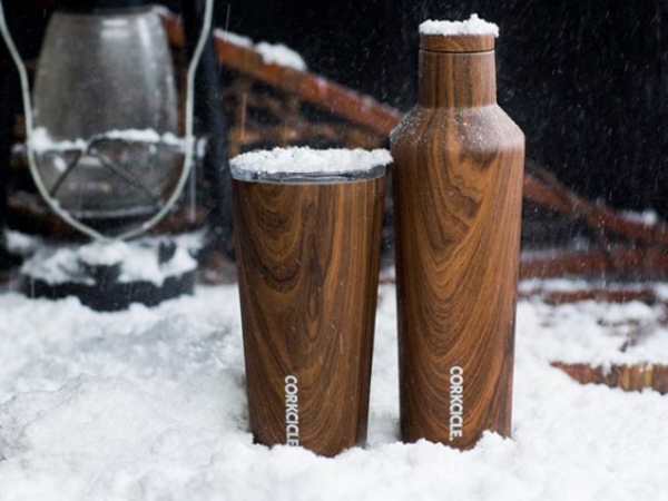 Corkcicle walnut wood collection