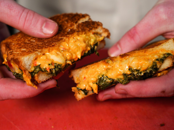 Butler's Cabinet grilled cheese