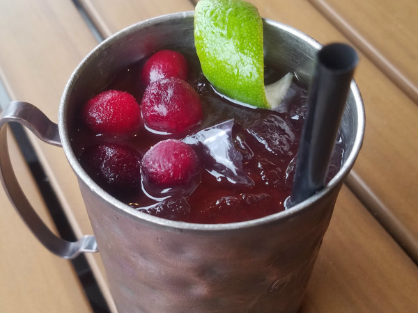 Cranberry Mule cocktail