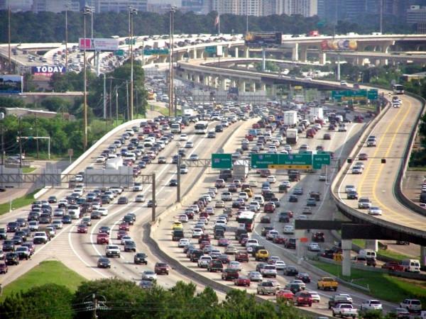 290 lanes traffic